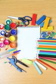 Acessórios de escola — Foto Stock