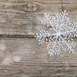 Christmas decorations (snowflake) — Stock Photo