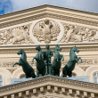 Daylight view of the Grand Theatre in Moscow, Russia — Stock Photo