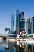 Moscow International Business Center, Moscow-City — Stock Photo