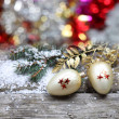Christmas decorations — Stock fotografie #13512558