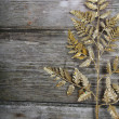Stock Photo: Golden twig