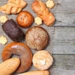 Various bread — Stock Photo #13954442