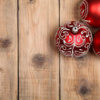 Three red ball  — Stockfoto