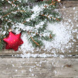 Red Christmas decorations — Stock Photo #14101372