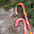 Stock Photo: Christmas candy