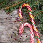 Christmas candy — Stock Photo
