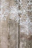 Christmas snowflakes — Stock Photo