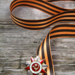 Order of the Patriotic War in St. George's Ribbon — Stock Photo