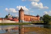 The powerful walls of the Kremlin. Kolomna. Russia  — Stock Photo