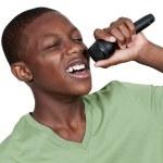 Teenage Singer — Stock Photo #12508606