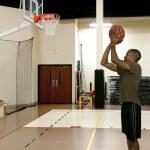 Black Man Basketball Player — Stock Photo