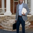 Stock Photo: Black Business Man
