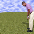 Man Golfer — Stock Photo #13505835