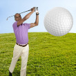 Man Golfer — Stock Photo #13505863