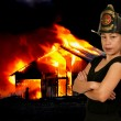 Firefighter — Stockfoto #13507779