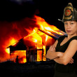 Firefighter — Stock Photo #13507779