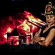 Firefighter — Stockfoto #14363223
