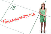 Triscaidecafobia — Foto de Stock