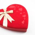 Red Heart Box — Stock Photo #1620382