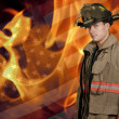 Firefighter — Stock Photo #16243509