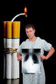 Bomba di sigaretta — Foto Stock