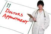 Artsen afspraak — Stockfoto