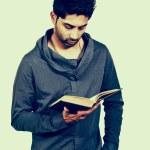 Man Reading a Book — Stock Photo #18246901