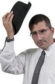 Man in Fedora — Stock Photo