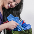 Stock Photo: AsiWomShopping Bags