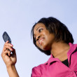 Woman on the Phone — Stock Photo #2428352