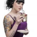 Women Tea Party — Stock Photo #25520199