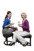 Women Tea Party — Stockfoto