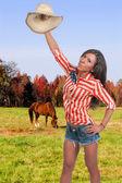 Vaqueira — Fotografia Stock