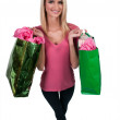 Woman Shopping Bags — Stock Photo #36804539