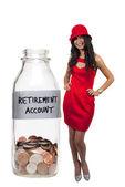 Retirement Account — Stock Photo
