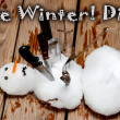 Stock Photo: Die Winter Die
