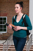 Woman Student — Stock Photo