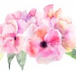 Stylized Pink flower — Stock Photo #13753094