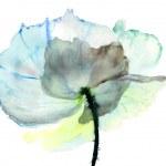 Stylized flower illustration — Stock Photo
