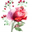 Stock Photo: Decorative Roses flowers