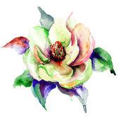 Stylizowane wiosennych kwiatów — Zdjęcie stockowe