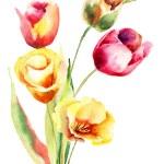 Summer flowers — Stock Photo #40844035