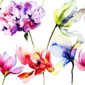 Original Summer flowers — 图库照片