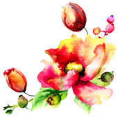 Original Summer flowers — Foto Stock