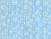 Fond de vecteur pour le flocon de neige noël — Vecteur
