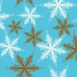 Seamless vector Christmas  background — Stock vektor