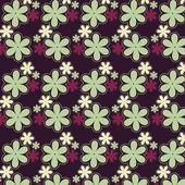 Vector fondo de flores — Vector de stock