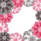 Streszczenie tło kwiat — Wektor stockowy