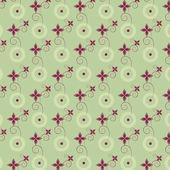 абстрактный цветочный фон узор вектор — Cтоковый вектор